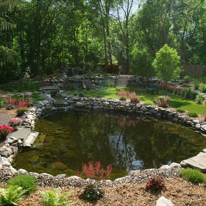 186 best images about spring fed natural pond on pinterest for Natural garden pond