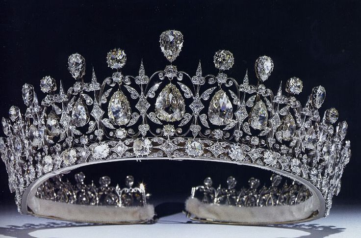 The Fife Tiara ~ Given to Princess Louise of Wales (daughter of KIng Edward VII and Queen Alexandra) on her marriage by her husband the Duke of Fife.
