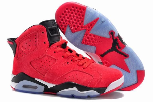 air jordan 6 retro rouge