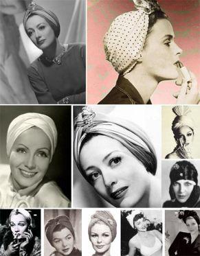 turbantes-inspirados-en-los 40-50