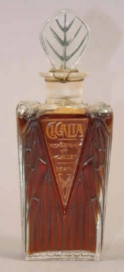 Lalique Cigalia-3 Perfume Bottle