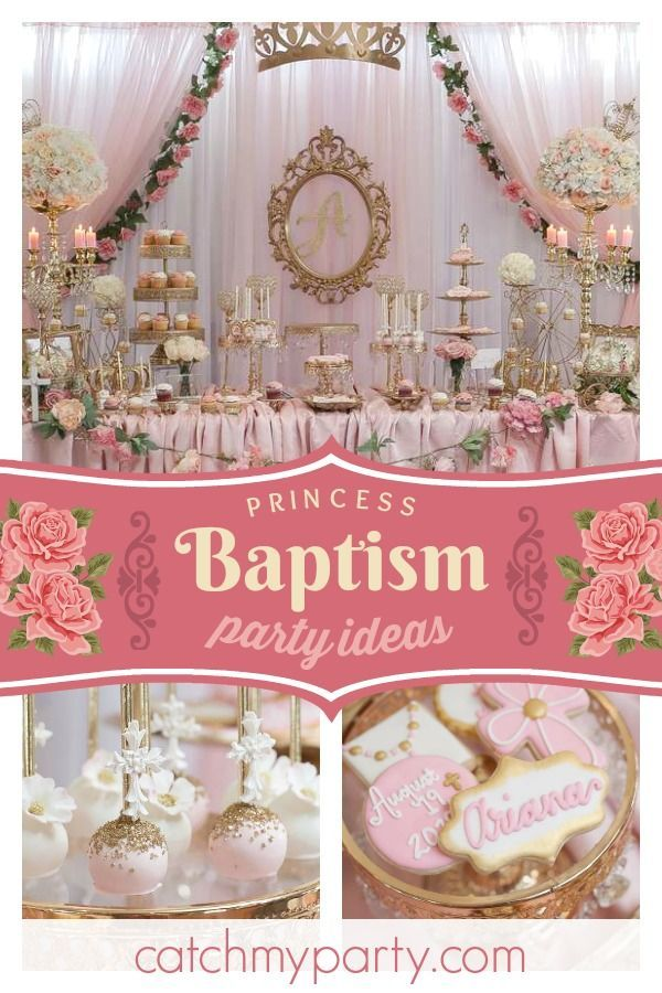 Royal Baptism Baptism Arianas Royal Baptism Baptism Party Decorations Baptism Party Girls Baptism Decorations Girl