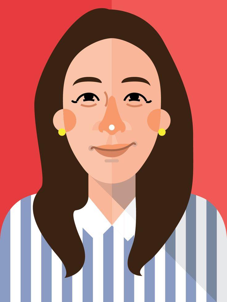 김민아 교수님  illust