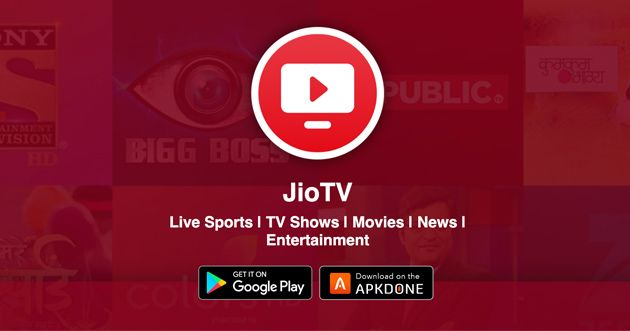 New Apk Jiotv Mod Apk 6 0 1 No Jio Sim Required Updated Modded Apkdone In 2020 Mobile Network Operator Streaming Tv Entertainment Channel
