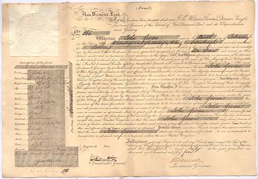 Convict conduct sheet--records the details of a convict's sentence, arrival in the colony, physical appearance, and conduct.  These are not available for all convicts of the colony.