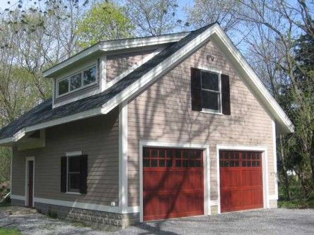 Arts Crafts Style Garage For The Home Pinterest