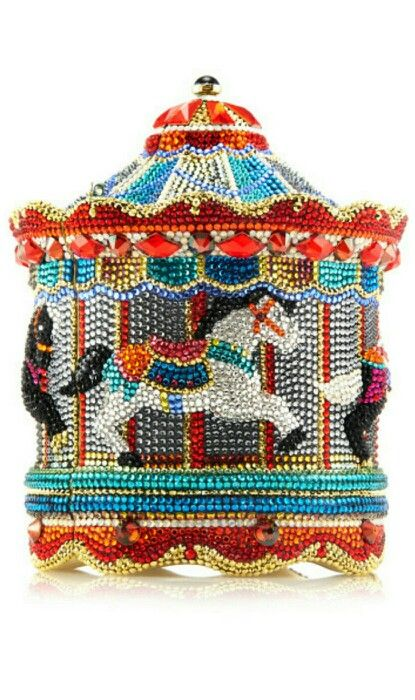 A curated collection Judith Leiber Carousel Evening Bag ~ Cynthia Reccord