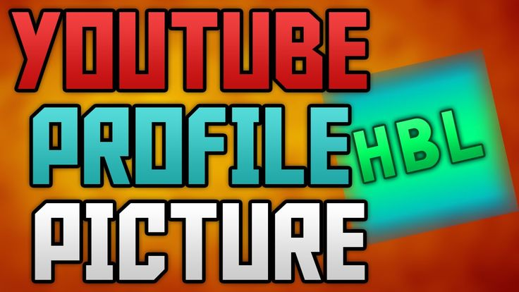 How To Make A Youtube Profile Picture with Photoshop 2015!