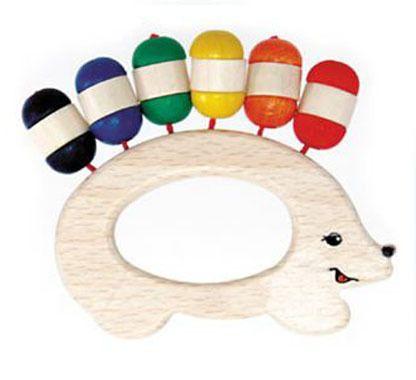 Mudpies - Hess Spielzeug Rattle Hedgehog, $14.95 (http://mudpies.com.au/hess-spielzeug-rattle-hedgehog/)