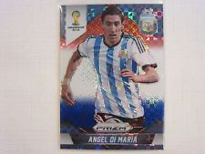 2014 Panini Prizm FIFA World Cup Soccer Red & Blue Prizm  Angel Di Maria