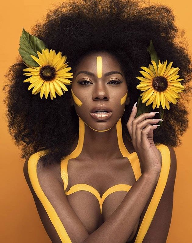"""IG: @islandboiphotography """"The flower that blooms in adversity is the most rare and beautiful of all."""" Model: @danielledesirrexoxo Mua/Concept/Art direction/flowers & paint: @moshoodat #lifestyle #beautyofawoman #blackisbeautiful #myblackisbeautiful #art #moshoodat #melanin #unapologetic #blackmodelsmatter #lovetheskinyouarein #blackgirlmagica - more visuals on pinterest: @snanyarko"""