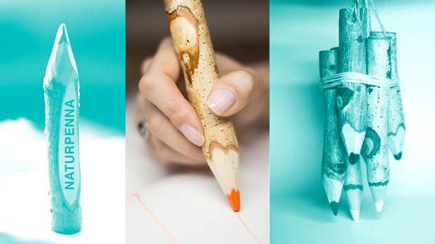 NaturPenna är en unik handgjord penna från skogen för naturliga inspirationer. Tillverkat för att öka miljömedvetandet hos barn och föräldrarna. Photo by alexandervik.com #naturpenna