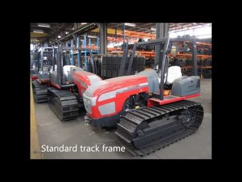 Crawler tractor made in China - YouTube