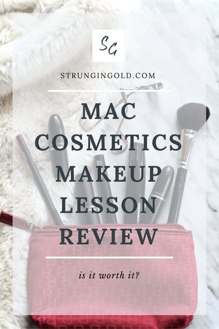 MAC Cosmetics Makeup Lesson from Strungingold