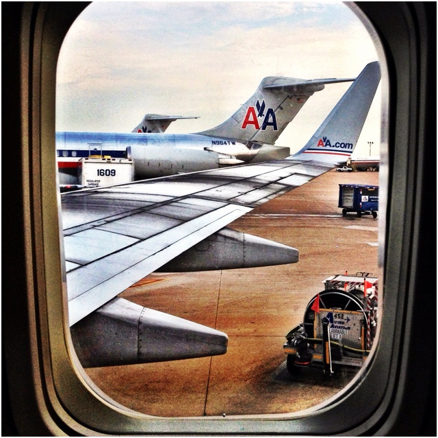 American Airlines at DFW airport.