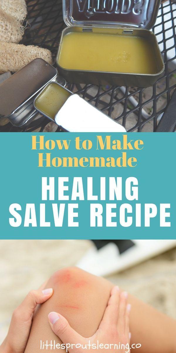 Natural Healing Salve Recipe Salve Recipes Healing How To