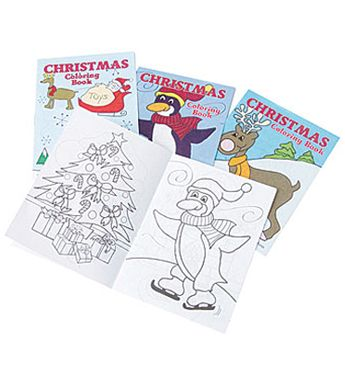 Mini Christmas Coloring Books For The Kids Attending Your Party Save 40