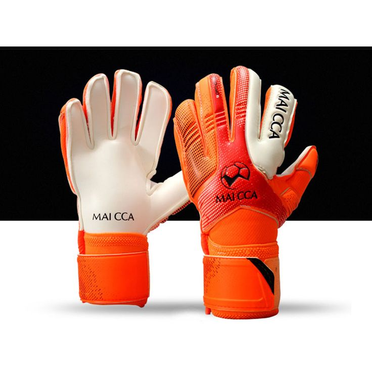 MAICCA Children Football Goalie Gloves Latex Finger Protector Professional Soccer Goalkeeper Glvoes Kids Training Wholesale