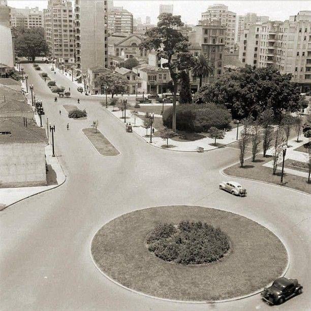 Largo do Arouche, 1951