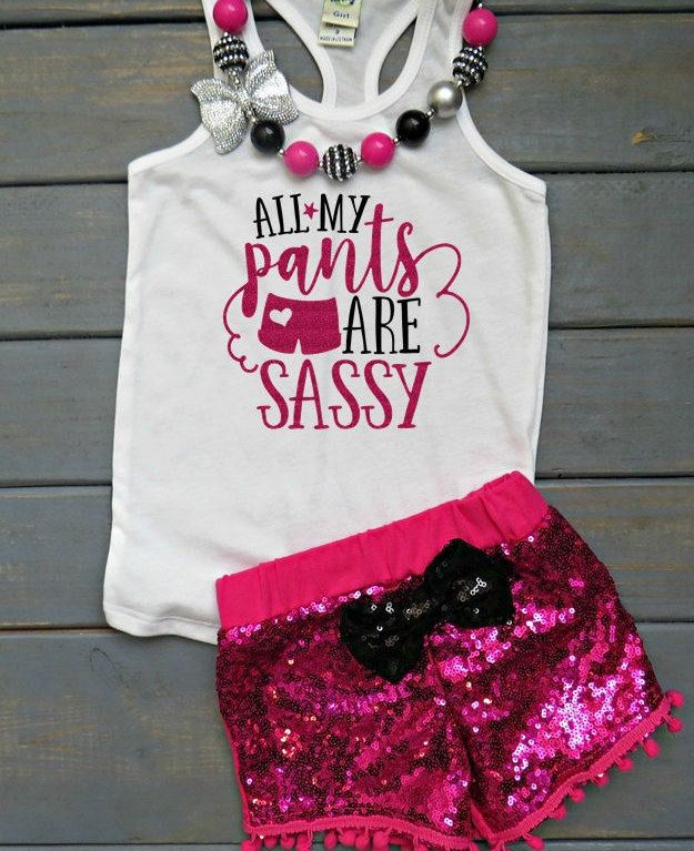 Miss Sassy Pants Outfits, Diva Baby, Girls' Outfits, Cute Baby Girl Clothes, Gifts For Her