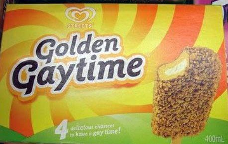 Golden Gaytime Icecream