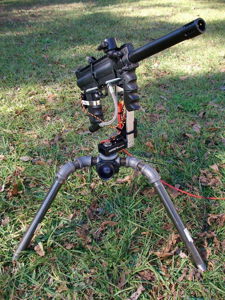 paintball machine gun turret - photo #17