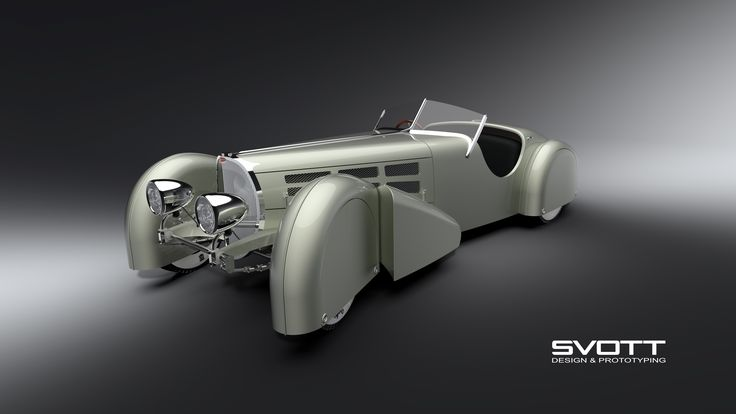 Bugatti 57s covered steering wheels
