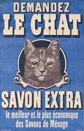 The Cat Soap  vintage poster 70010