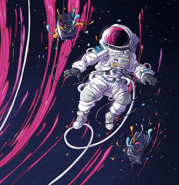 космос и космонавты арты деликатесом считается