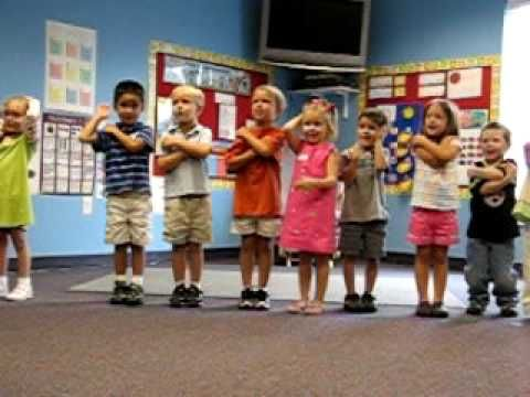 Macarena Months song...I use this in my classroom for 7 years now. So cute