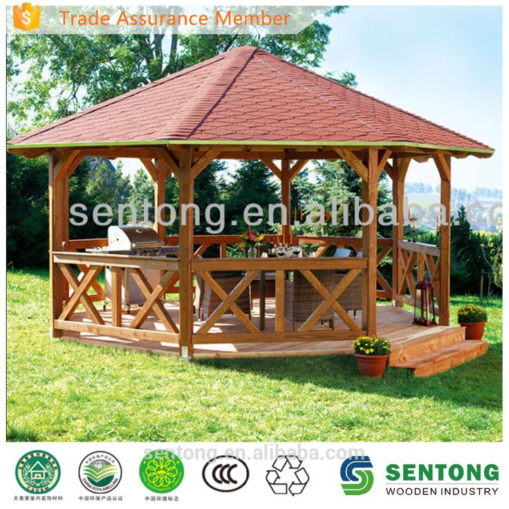 High Quality Wooden Gazebo Learn about High