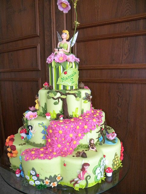 144 Best Images About Cakes Tinkerbell Fairies On