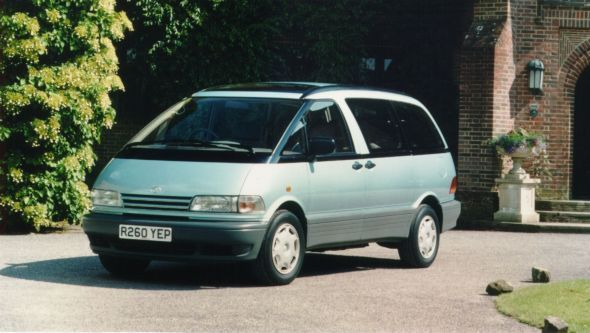 History of the Toyota Previa 3