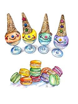 Funny dessert #dollmemories #icecream