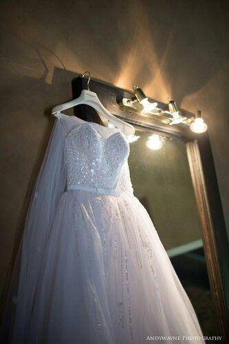 My stunning pronovias wedding dress