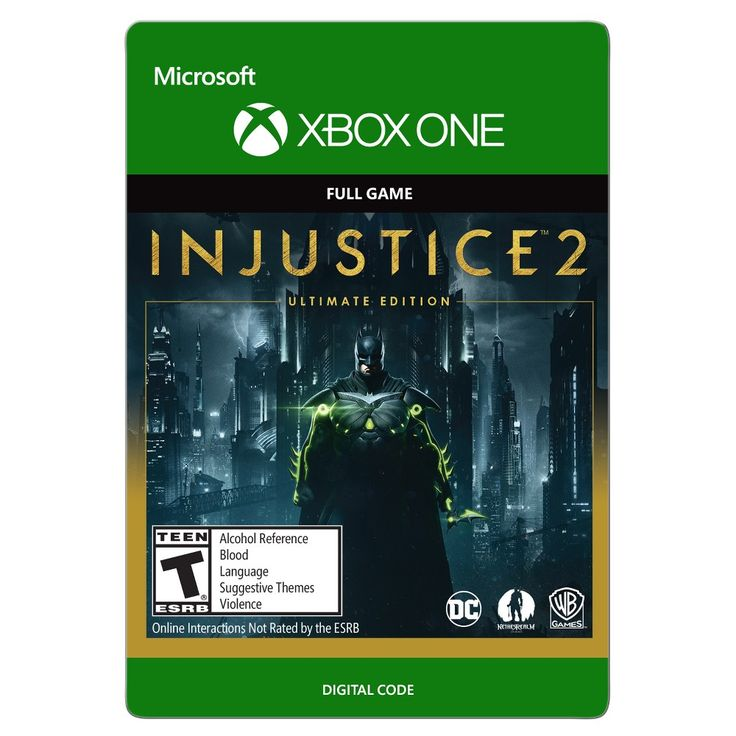Xbox One Injustice 2: Ultimate Edition $99.99 - Email Delivery