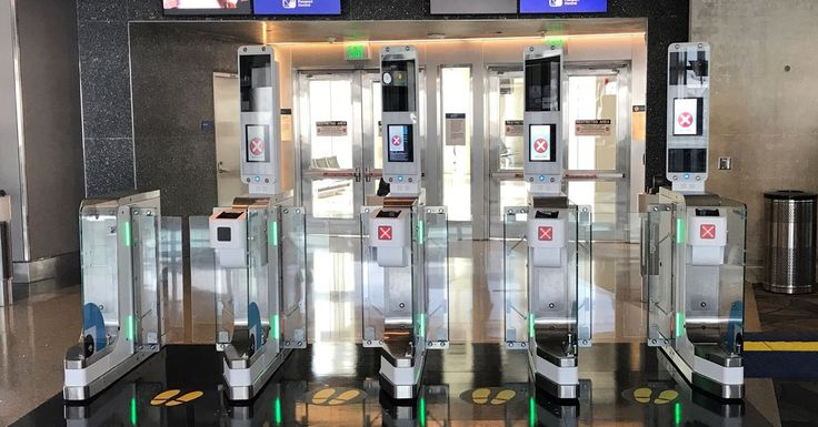 British Airways brings its biometric identification gates to three more US airports   British Airways is expanding its biometric identification gates to new airports in New York (JFK) Miami (MIA) and Orlando (MCO). These biometric e-Gates which have been in a trial at Los Angeles International Airport (LAX) since November 2017 use facial recognition to match flyers with their passport visa or immigration photos and can remove the need to show a boarding pass or identification when getting on…