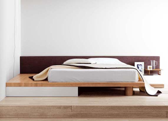 Simple Low Height Beds Bedroom Designs Pinterest