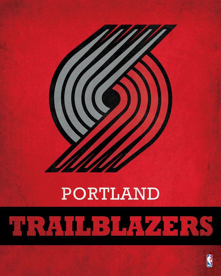 Portland Trail Blazers Art: 55 Best Portland Trail Blazers Images On Pinterest