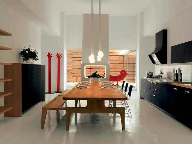 7 besten Industrial Living Spaces Bilder auf Pinterest - amerikanische küche einrichtung