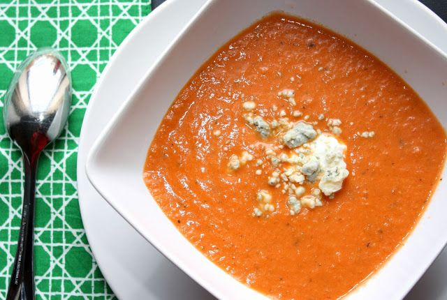 the bitchin kitchin spicy tomato amp blue cheese soup