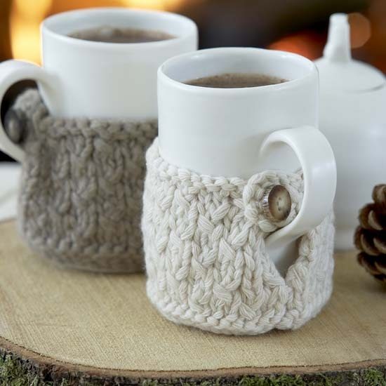 cute knitted cosies that keep your tea hot on a cold day