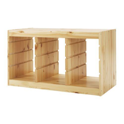 IKEA - ТРУФАСТ, Каркас, , Серия удобной и устойчивой мебели для хранения игрушек, отдыха и игр.Создайте индивидуальное решение для хранения, комбинируя разные каркасы, контейнеры и полки.В каркасе подготовлены несколько пазов, в которые вы можете установить контейнеры и полки и в любой момент при необходимости изменить их положение.Расположите модули для хранения на удобной для ребенка высоте, и он сможет самостоятельно достать нужную вещь и навести порядок.