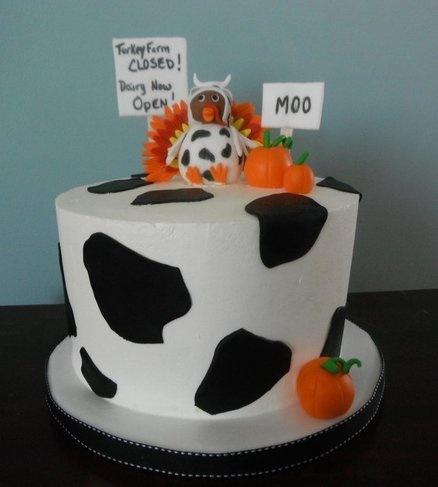Thanksgiving Turkey - by SISA @ CakesDecor.com - cake decorating website