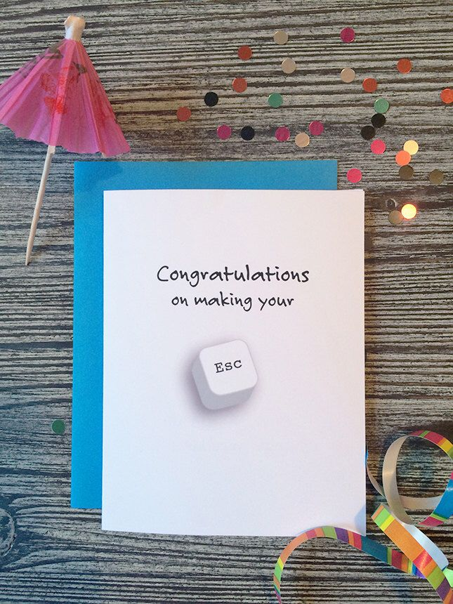 Retirement Card, Congratulations on Retirement Card, Retirement Greetings, Retirement Wishes by AnimalCharm on Etsy https://www.etsy.com/listing/235395600/retirement-card-congratulations-on
