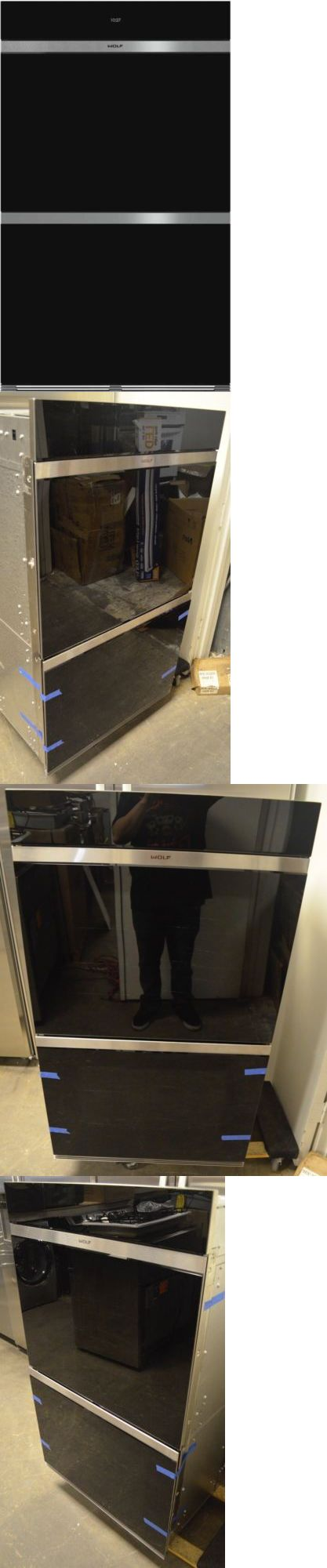 Wall Ovens 71318: Wolf 30 M Series Built-In Double Electric Wall Oven Black Glass Do30cmb -> BUY IT NOW ONLY: $5900 on eBay!