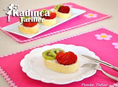 Porsiyonluk Meyveli Rulo Pasta Tarifi