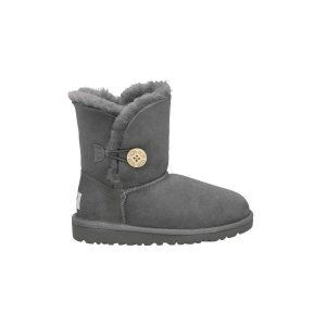 Grey Ugg KidS Bailey Button Boots