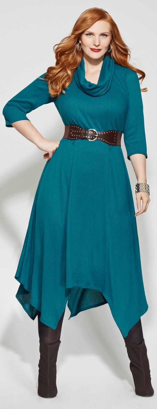 Handkerchief Dress Big beautiful real women with curves fashion accept your body plus size body conscientiosness