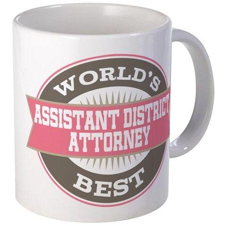 assistant district attorney Mug on CafePress.com